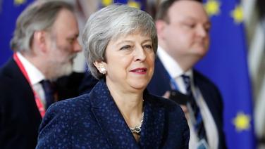 Príomh-Aire na Breataine, Theresa May sa Bhruiséil inniu