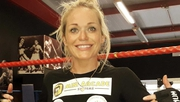 Lynn Harvey is fighting for the European title on Saturday at a venue just outside Madrid
