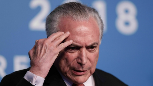 Brazil's former President Temer arrested on corruption charges