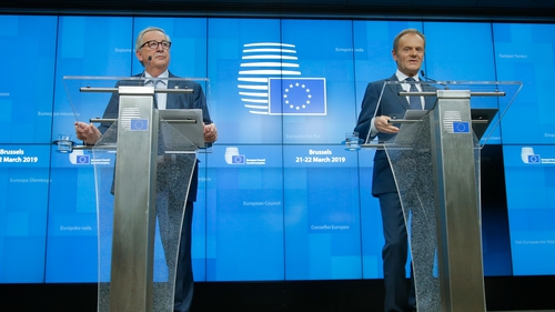 European Council President Donald Tusk said the EU had responded to the UK in a 'positive spirit'