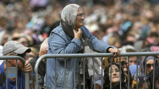 New Zealand falls silent for mosque attack victims