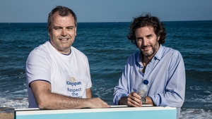 Mike Stenson, Head of Innovation at Kingspan and Javier Goyeneche, founder of the EcoAlf Foundation