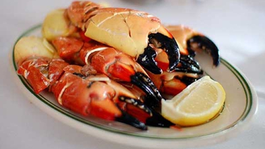 Nevens Recipes - Crab Claws with Lemon & Chives
