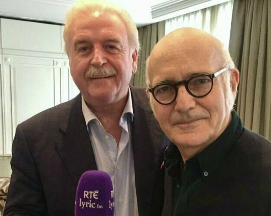 Marty and Ludovico Einaudi