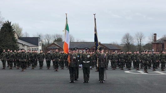 President Higgins Calls For Improved Pay For The Defence Forces