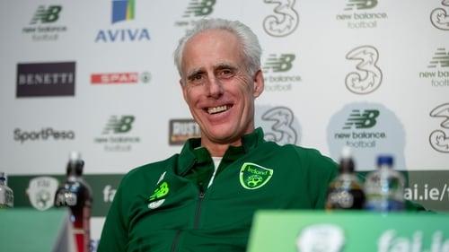 Ireland boss Mick McCarthy
