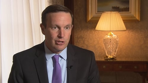 Democratic Senator from Connecticut Chris Murphy is currently on a visit to the UK, Northern Ireland and Ireland to report back to congressional colleagues on Brexit