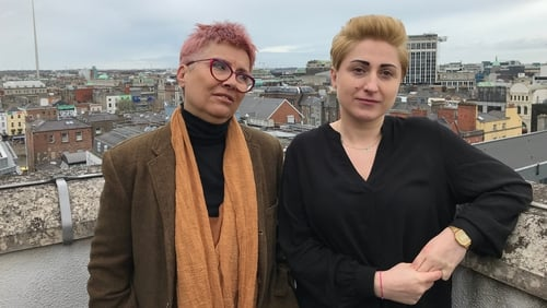 Beata Geppert and Izabela Mozdrzén are in Dublin this weekend to address Amnesty International's annual conference