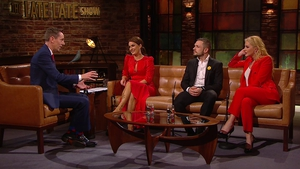 Mairead, Johnny and Cliona joined Ryan Tubridy on Friday's Late Late Show