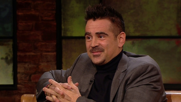 Colin Farrell - One of the guests at this year's wholly online Virgin Media Dublin International Film Festival