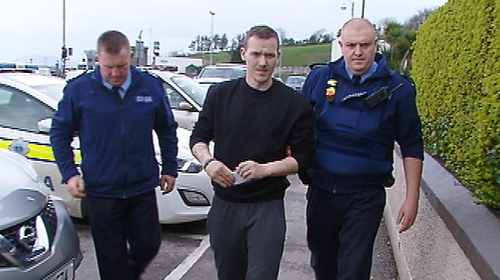Jonathan O'Driscoll was brought before a special sitting of Bantry District Court today