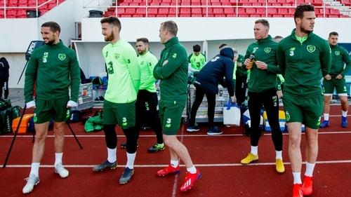 Matt Doherty and Conor Hourihane start against Gibraltar