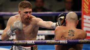 Jason Quigley in action