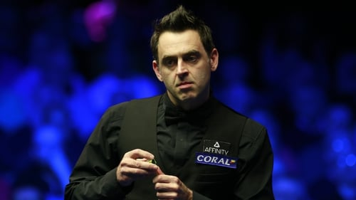 Ronnie O'Sullivan will face amateur James Cahill in his opening match