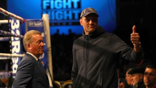 Tyson Fury will take on Swede Otto Wallin next month