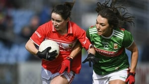 Eimear Scally leads the line for Cork