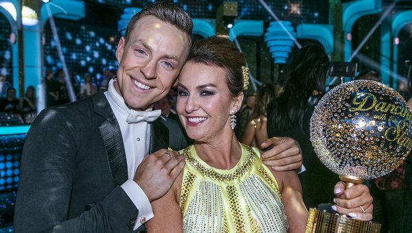DWTS winners Mairead Ronan and her partner John Nolan