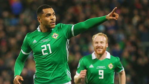 Josh Magennis side-footed home the winner in the final five minutes