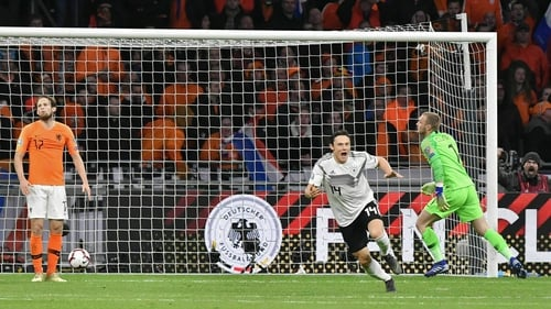 7f7942ee8d5 Nico Schulz scores last minute winner as Germany win in Holland