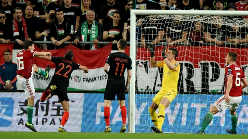 Croatia's World Cup hangover continued with a 2-1 loss to Hungary