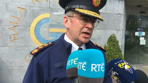 Drew Harris said a hard border was not on the agenda of An Garda Síochána at present, and that this was in line with Government policy
