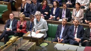 Theresa May addressed the House of Commons