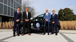 Stephen Kelly, Richard Dunne, Richie Sadlier and Darragh Maloney as it is confirmed that Volkswagen will sponsor RTÉ's coverage