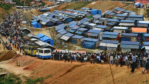 Camps in Banglades host nearly a million refugees who have fled persecution in neighbouring Myanmar in waves going back decades