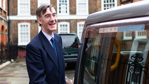 Jacob Rees Mogg has hinted he could back Theresa May's deal