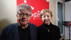 Paul Muldoon and Poetry Programme host Olivia O'Leary