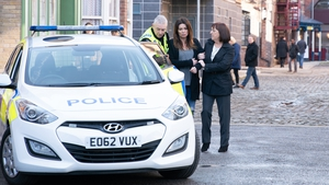 Carla is arrested on Coronation Street