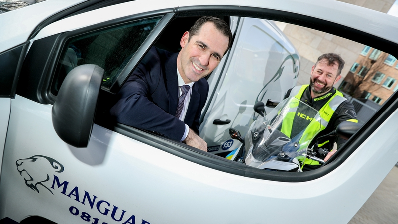 John O'Brien, Operations Manager with Manguard Plus said the introduction of motorbikes will reinforce the firm's mobile patrols