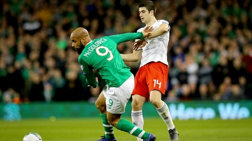 David McGoldrick shone for the hosts at the Aviva Stadium