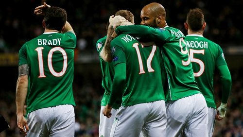 Ireland have maximum points in Group D following the opening two matches