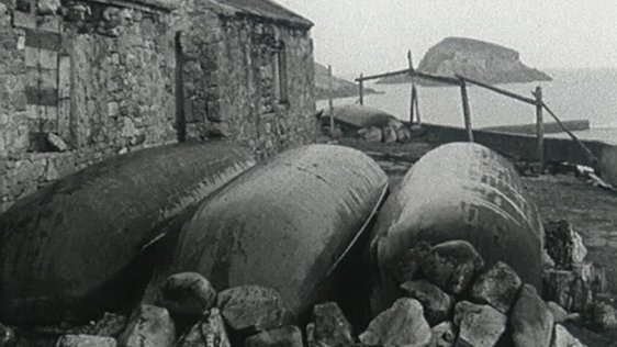 Currachs, Iorras, Co. Mayo (1969)