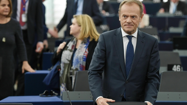 Donald Tusk described opposition to a long extension as 'unacceptable'