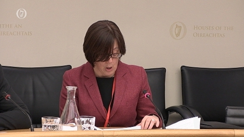 Anne Graham is before the Oireachtas Transport Committee