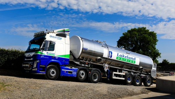 Farmer-owned Lakeland Dairies is the largest cross-border dairy processing co-operative on the island of Ireland