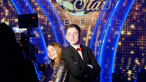 Darragh and Darcy on the big night