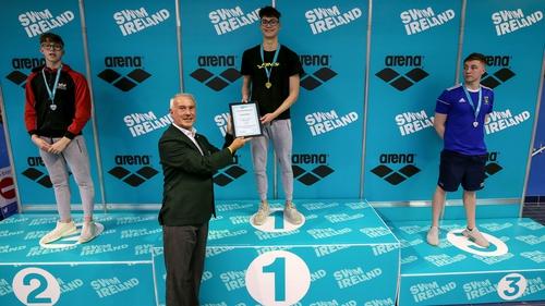 Jack McMillan set an Irish senior record
