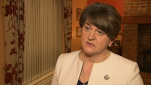 Arlene Foster says the will be no infrastructure at the Irish border after Brexit