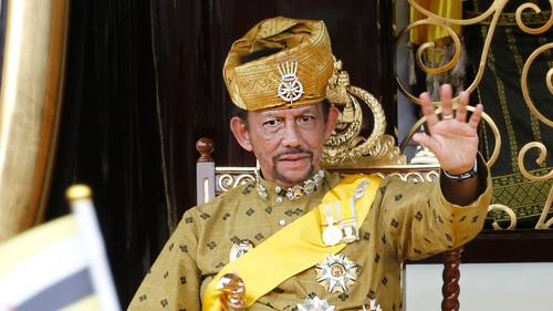 The order is a directive from Sultan Hassanal Bolkiah