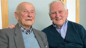 Joe Veselsky (L) and Joe McGovern are an inspiration to lifelong learning
