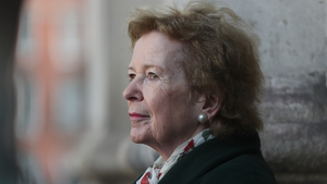 Mary Robinson said Ireland should be a leader on climate change