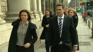 High Court heard the discussions between the Quinn family (pictured) and Irish Bank Resolution Corporation began late last week