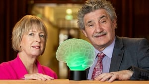 Knowledge Transfer Ireland's Dr Alison Campbell and Minister John Halligan at the launch of the new National Intellectual Property Protocol