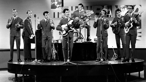 Dickie Rock and The Miami Showband in 1964