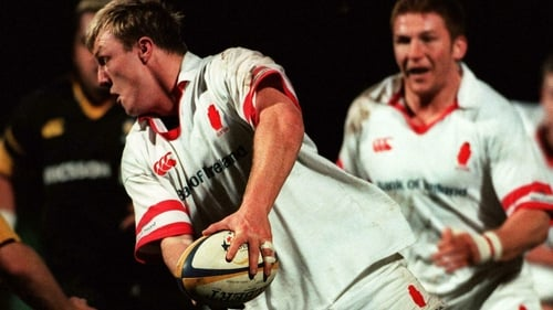 Eric Miller in action for Ulster