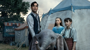 Colin Farrell is back on the big screen in the live action Dumbo