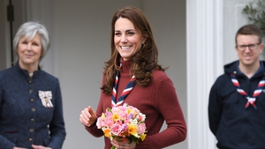The Duchess was visiting the Scouts headquarters. Photo: Getty